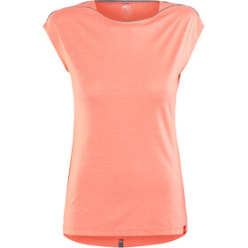 Millet Cloud Peak T-shirt à manches courtes Femme, peach